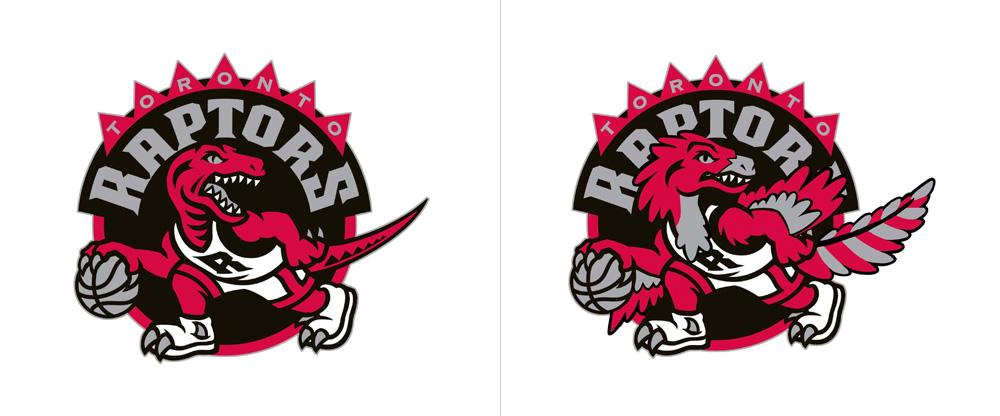 Accurate Toronto Raptors Logo