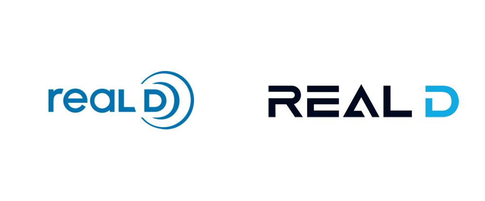 Brand New: New Logo for RealD