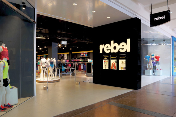Rebel Logo, Identity, and Retail