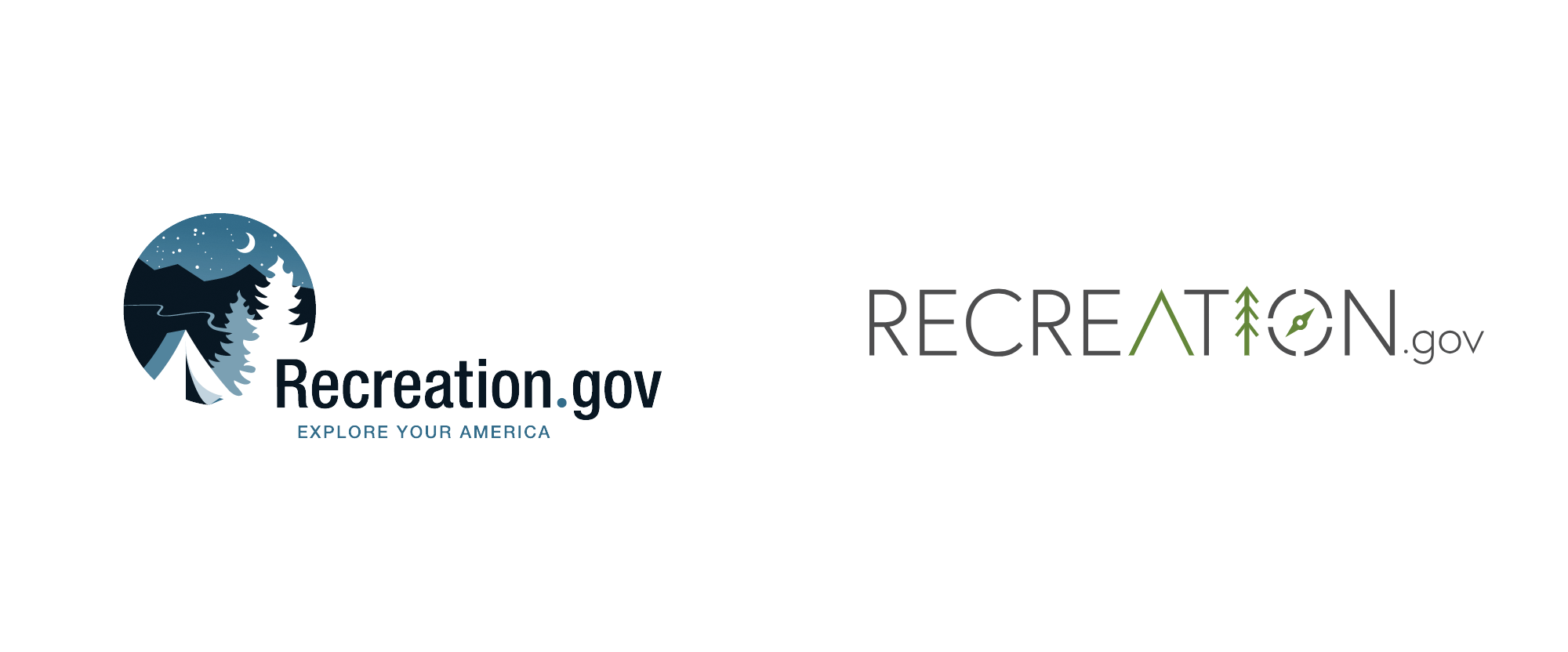 New Logo for Recreation.gov