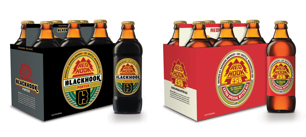 New Packaging for Redhook by Sasquatch Agency