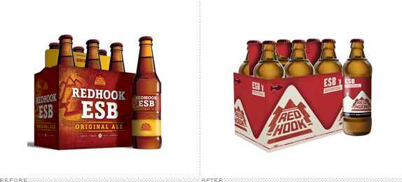 Redhook Packaging, Before and After