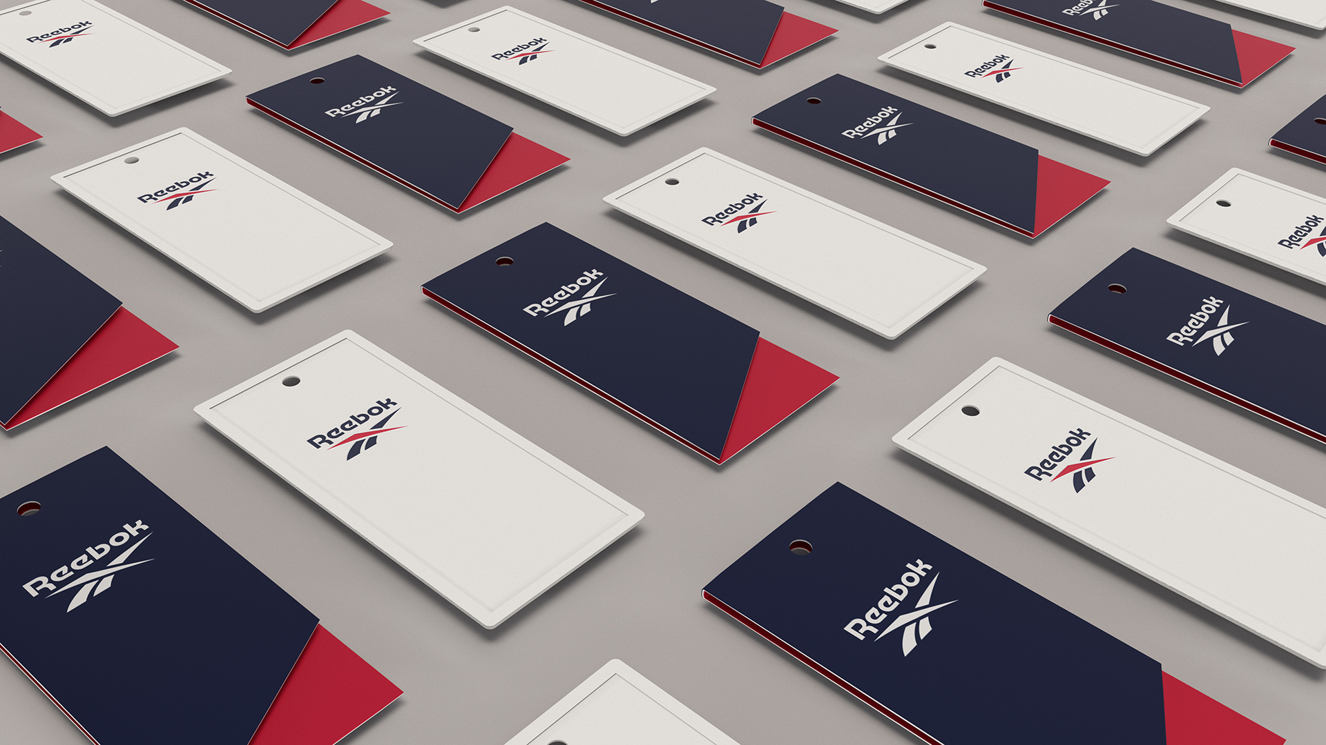 New Logo and Identity for Reebok done In-house with Darrin Crescenzi