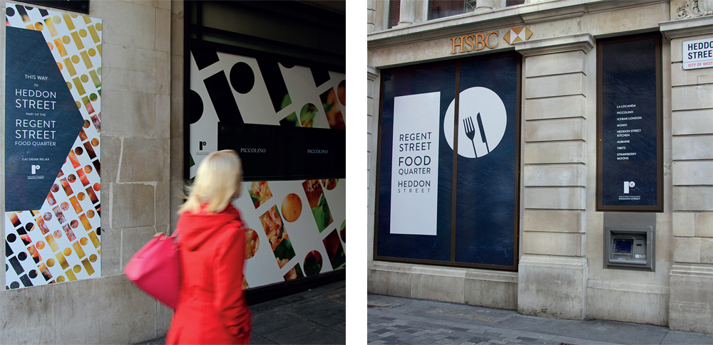 New Logo and Identity for Regent Street by Small Back Room