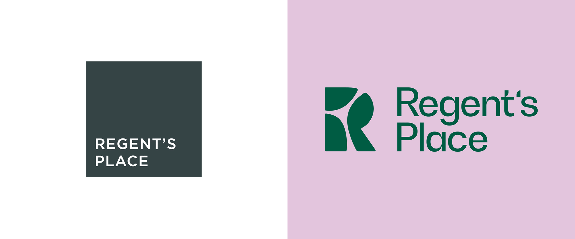 New Logo and Identity for Regent's Place by DixonBaxi