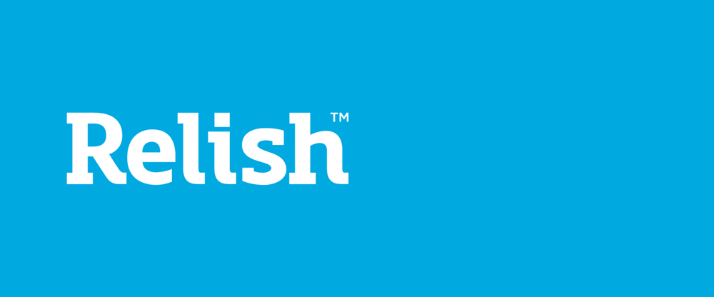 New Logo and Packaging for Relish by Turquoise Branding