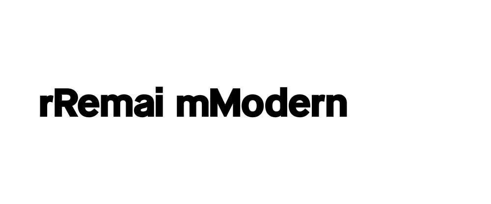 New Logo and Identity for Remai Modern by karlssonwilker