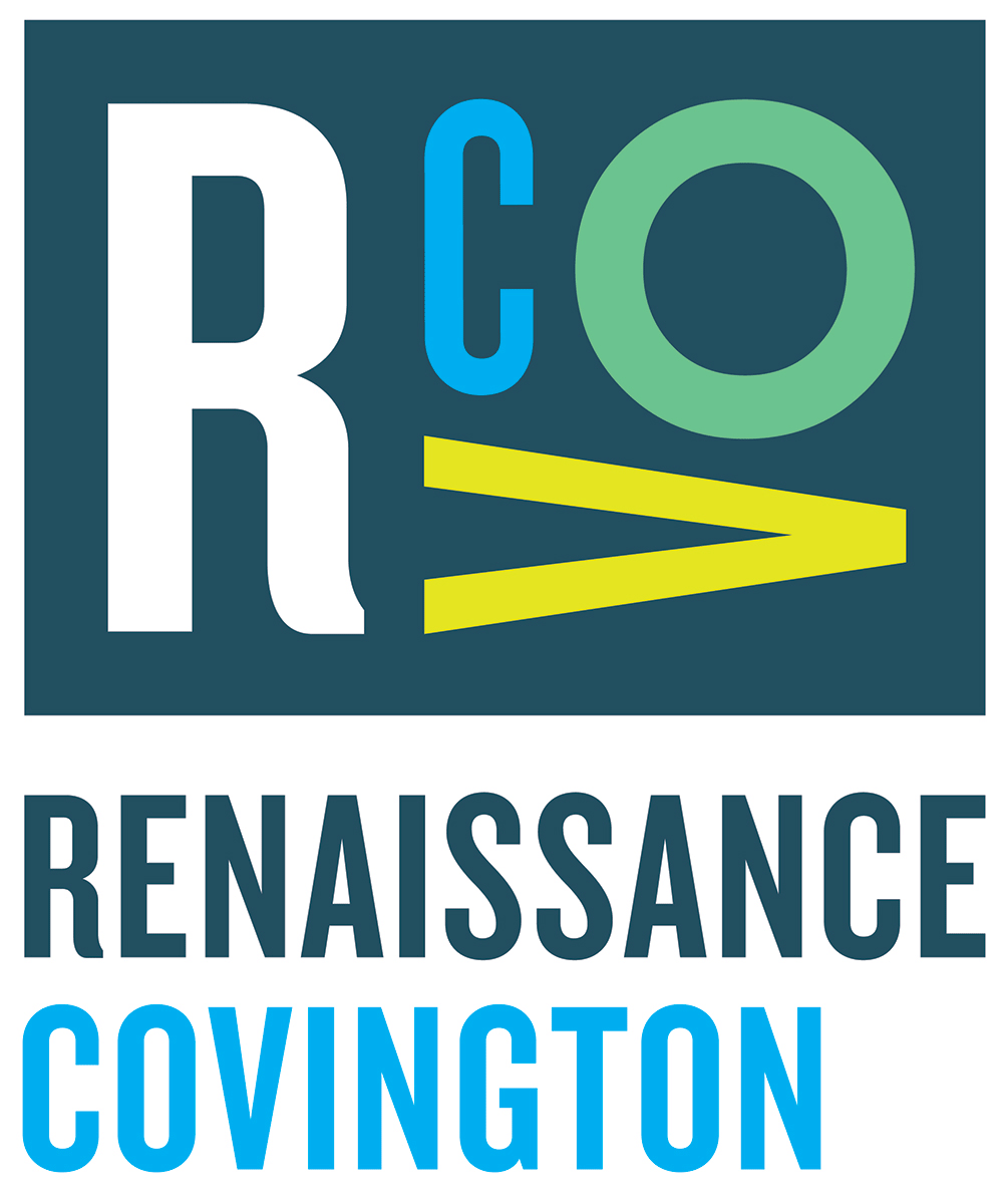 New Logo and Identity for Renaissance Covington by Durham Brand & Co.