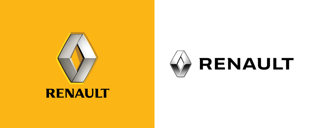Del Real Auto Sales >> Brand New: New Logo and Identity for Renault done In-house
