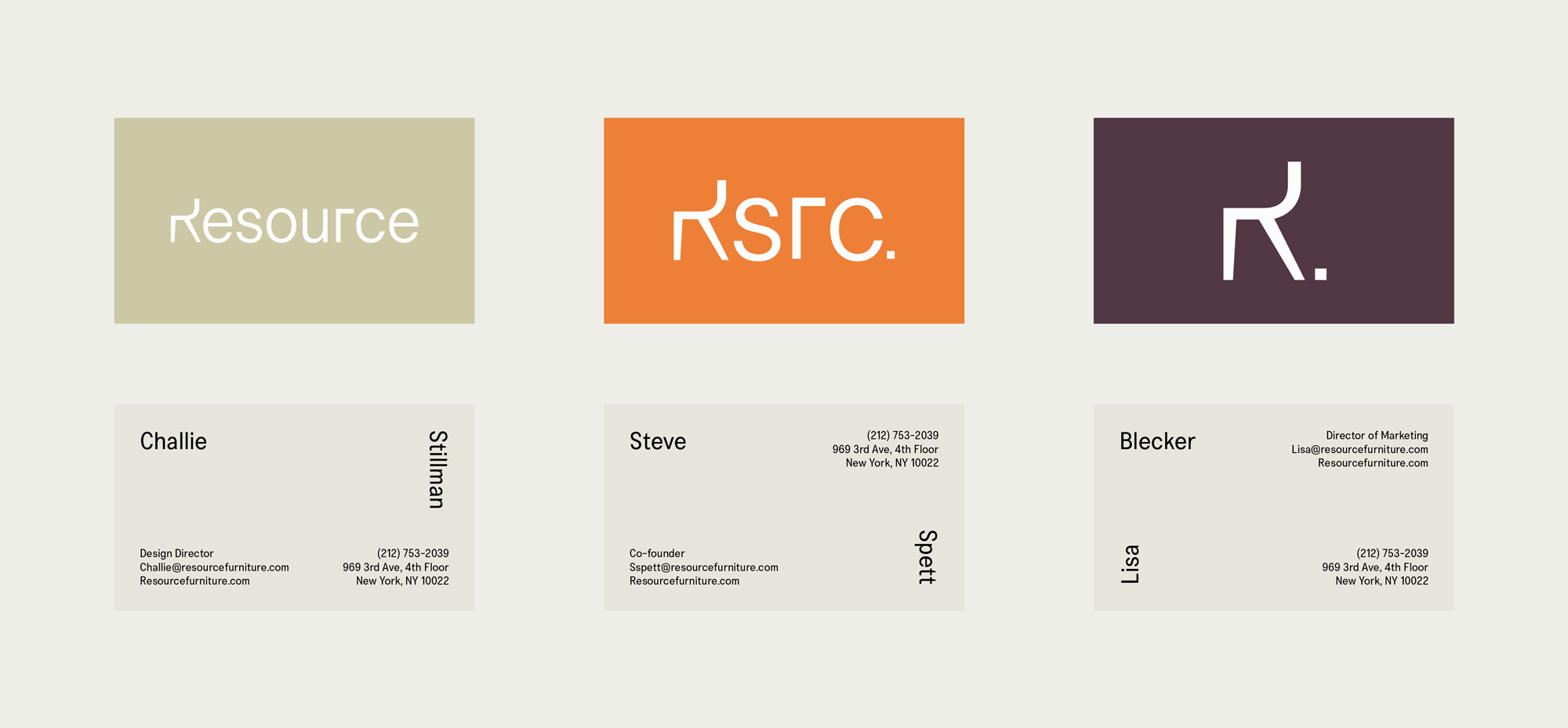 New Logo and Identity for Resource by Executive