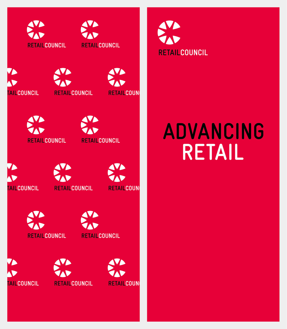 New Name, Logo, and Identity for Retail Council by Hulsbosch