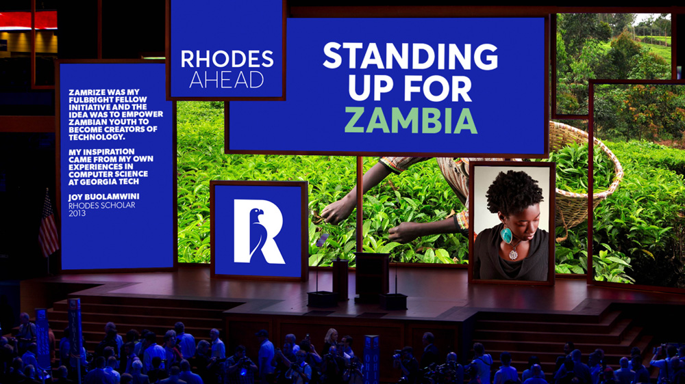 New Logo and Identity for Rhodes Trust by Lambie-Nairn