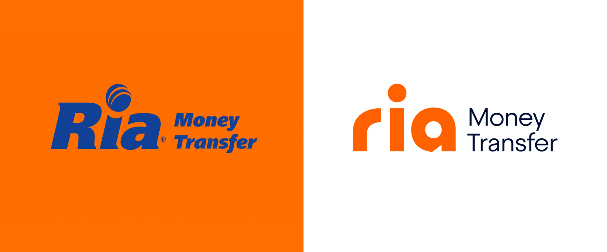 New Logo for Ria Money Transfer
