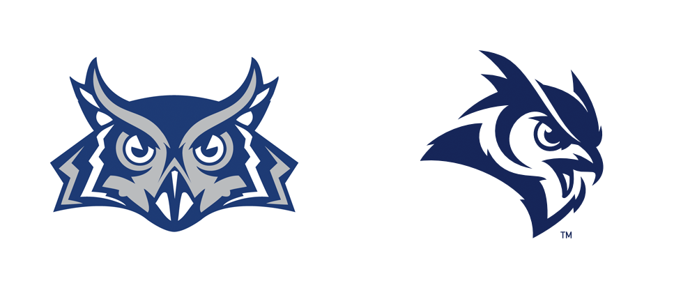 New Logo System for Rice Athletics by Torch Creative