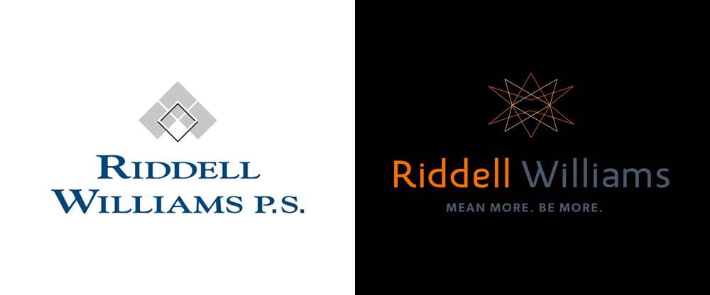 New Logo and Identity for Riddell Williams by CRP