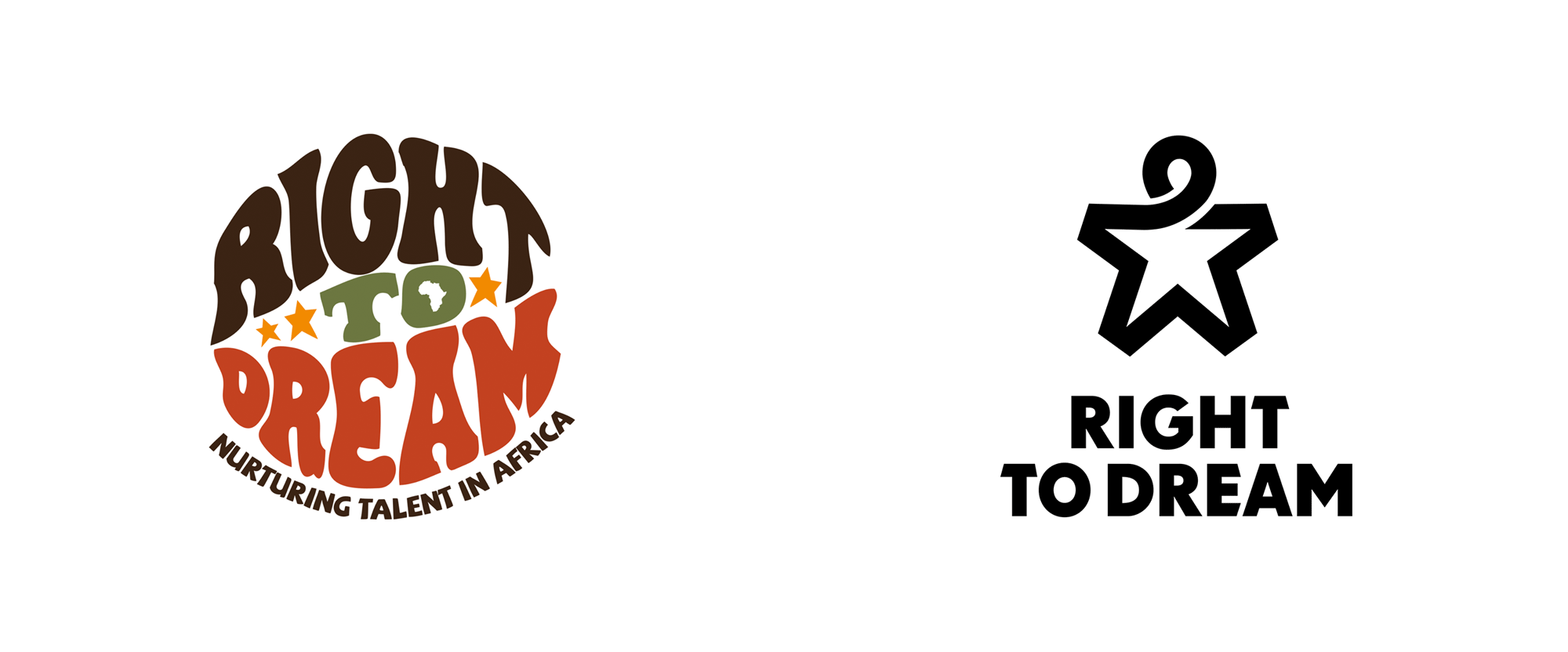 New Logo and Identity for Right to Dream by Pupila