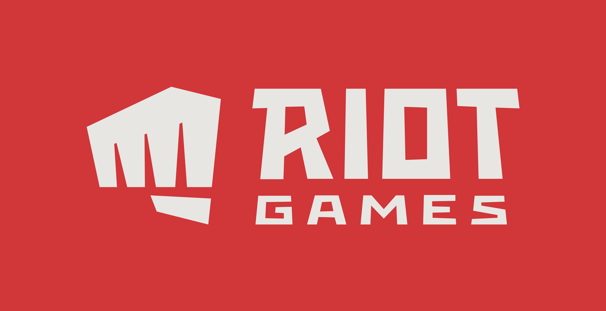 New Logo for Riot Games by Rinker Design and In-house