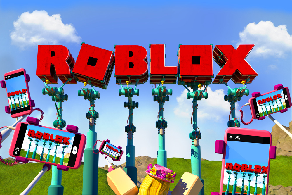 Brand New: New Logo for Roblox
