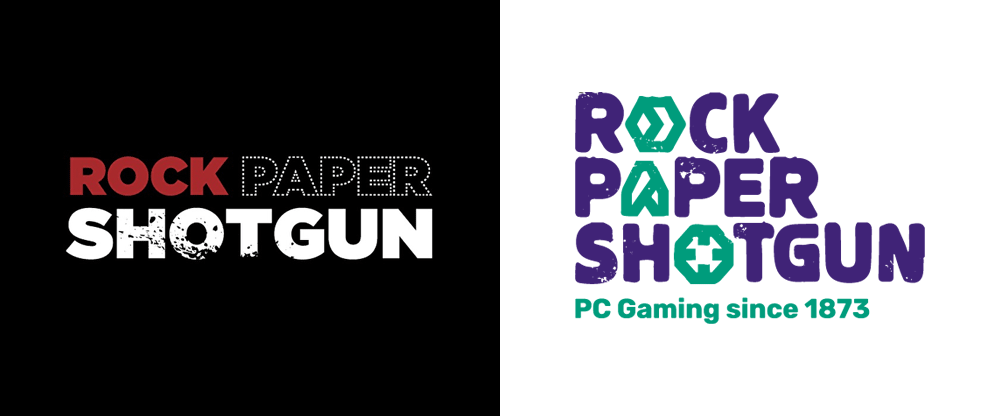 New Logo for Rock Paper Shotgun
