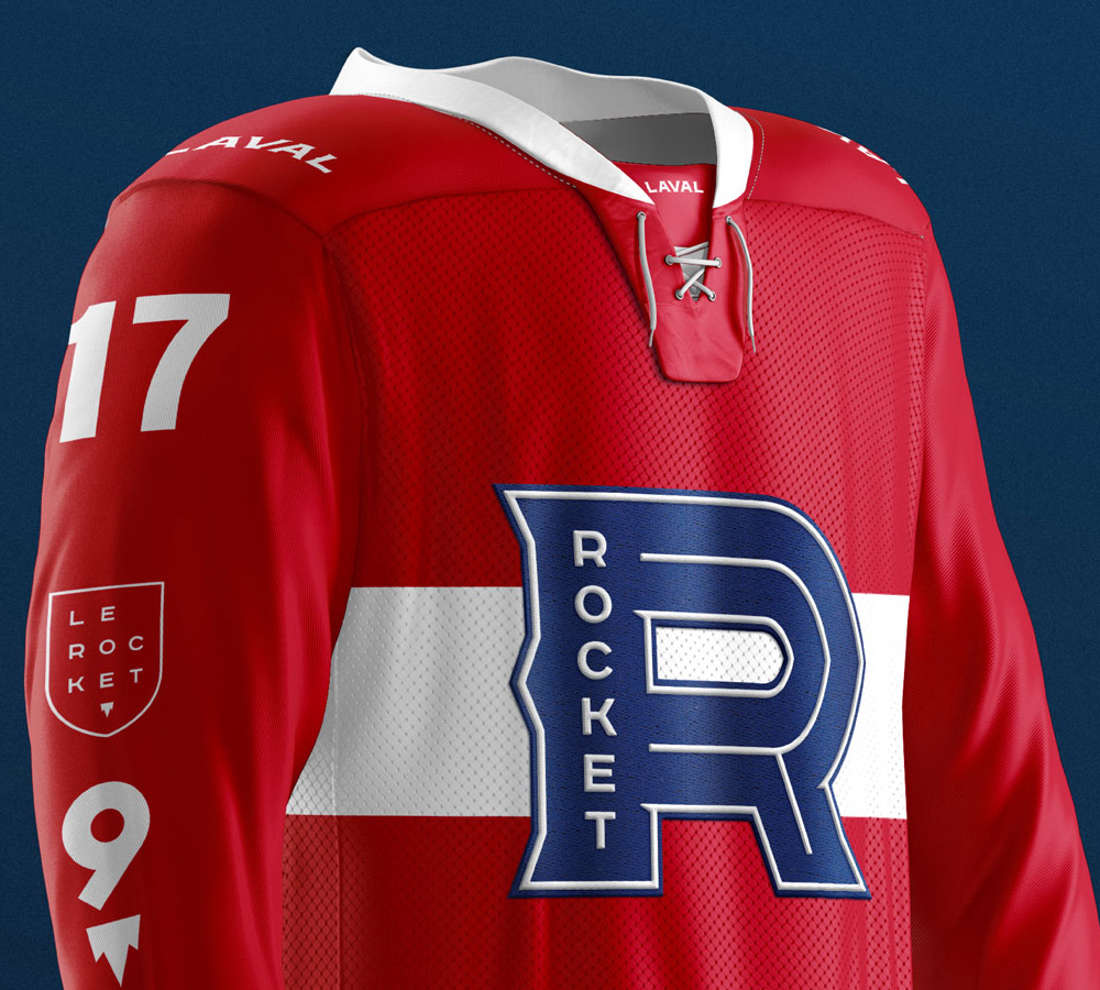 New Logo and Identity for Rocket de Laval by lg2