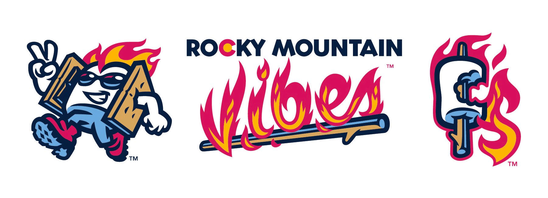 New Name + New Logos for Rocky Mountain Vibes by Brandiose