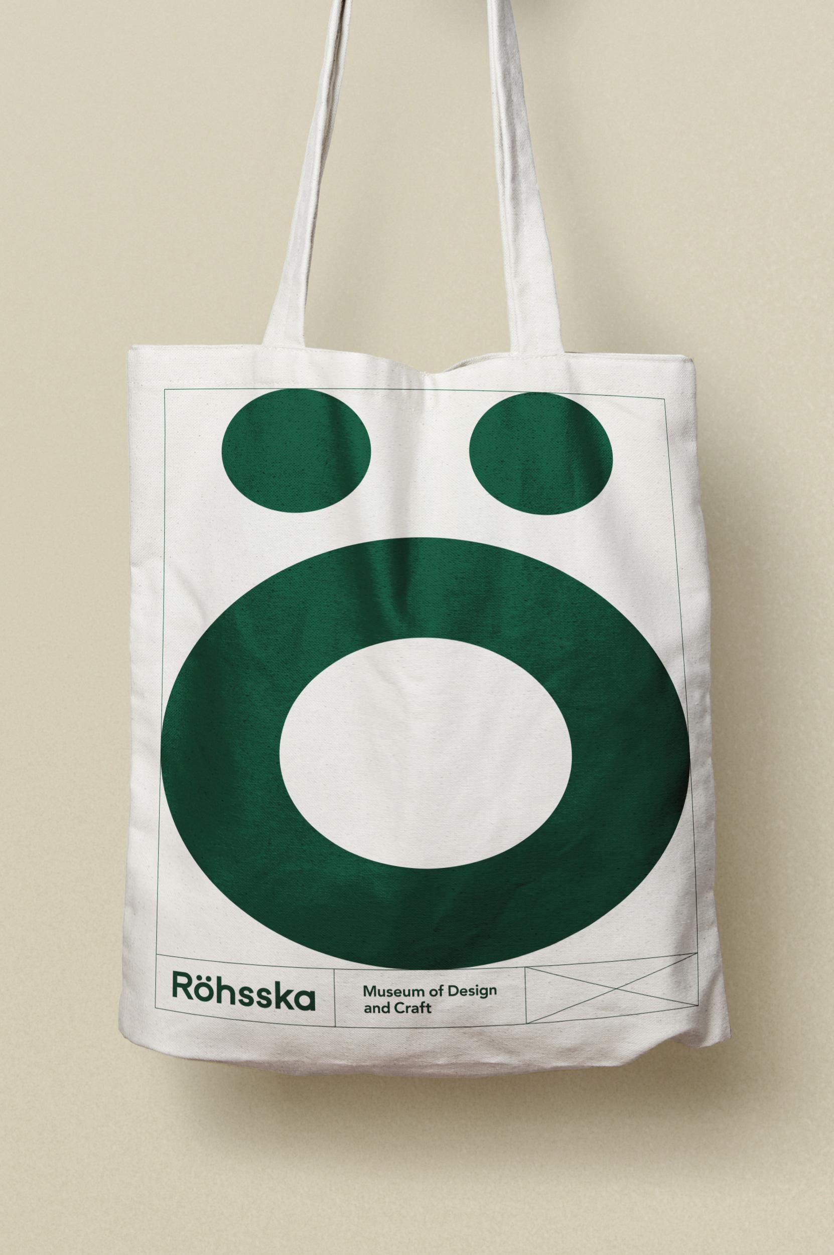 New Logo and Identity for Röhsska by Aoki