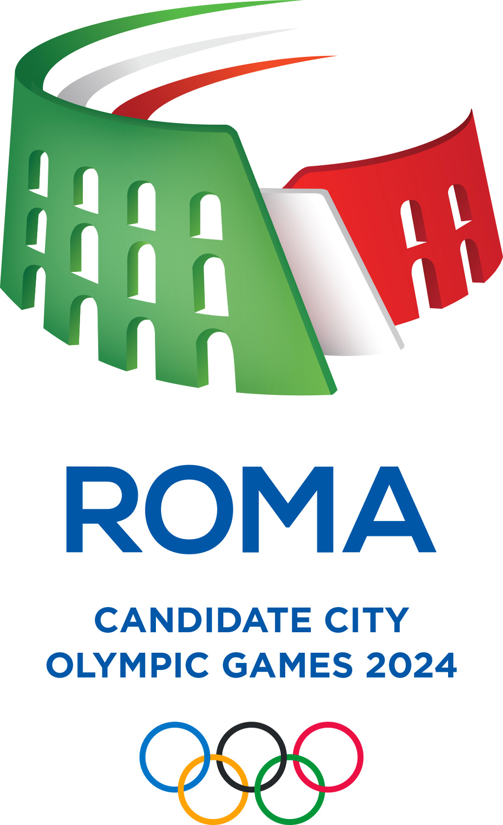 New Logo for Roma 2024 Candidate City