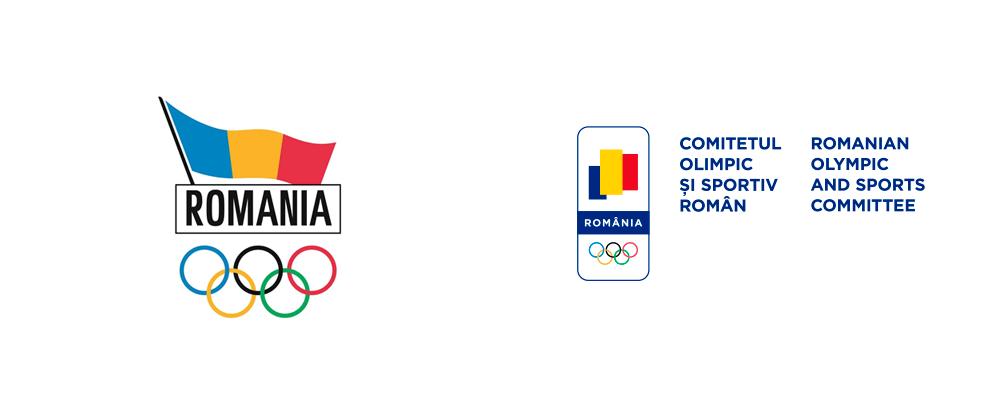 Brand New New Logo And Identity For Romanian Olympic And Sports Committee By Brandient