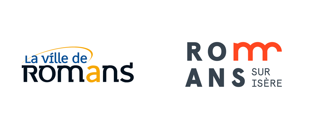 New Logo and Identity for Romans-sur-Isère by Graphéine