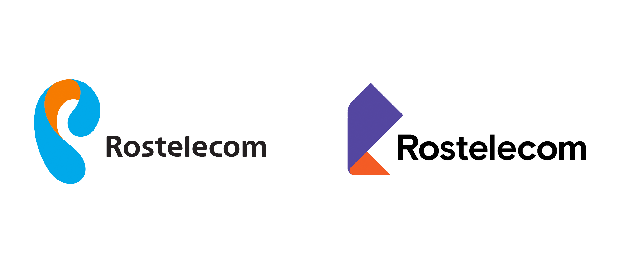 New Logo and Identity for Rostelecom by Saffron