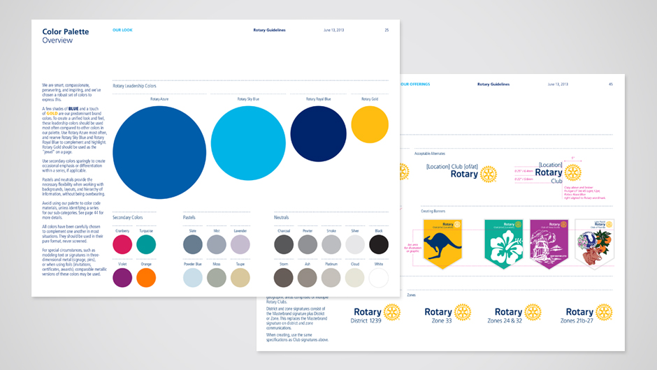 Brand New New Logo and Identity for Rotary by Siegel Gale