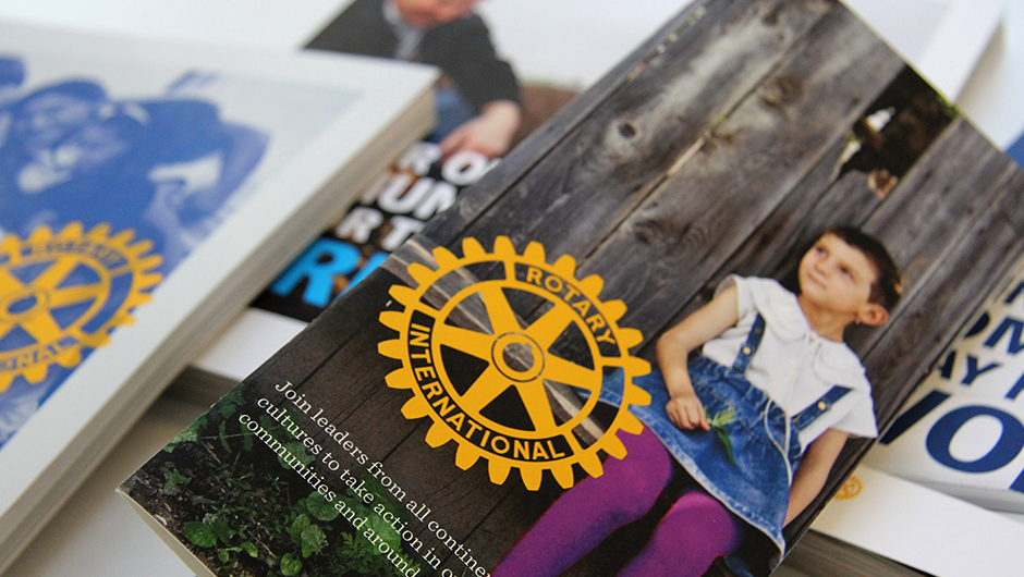 New Logo and Identity for Rotary by Siegel+Gale