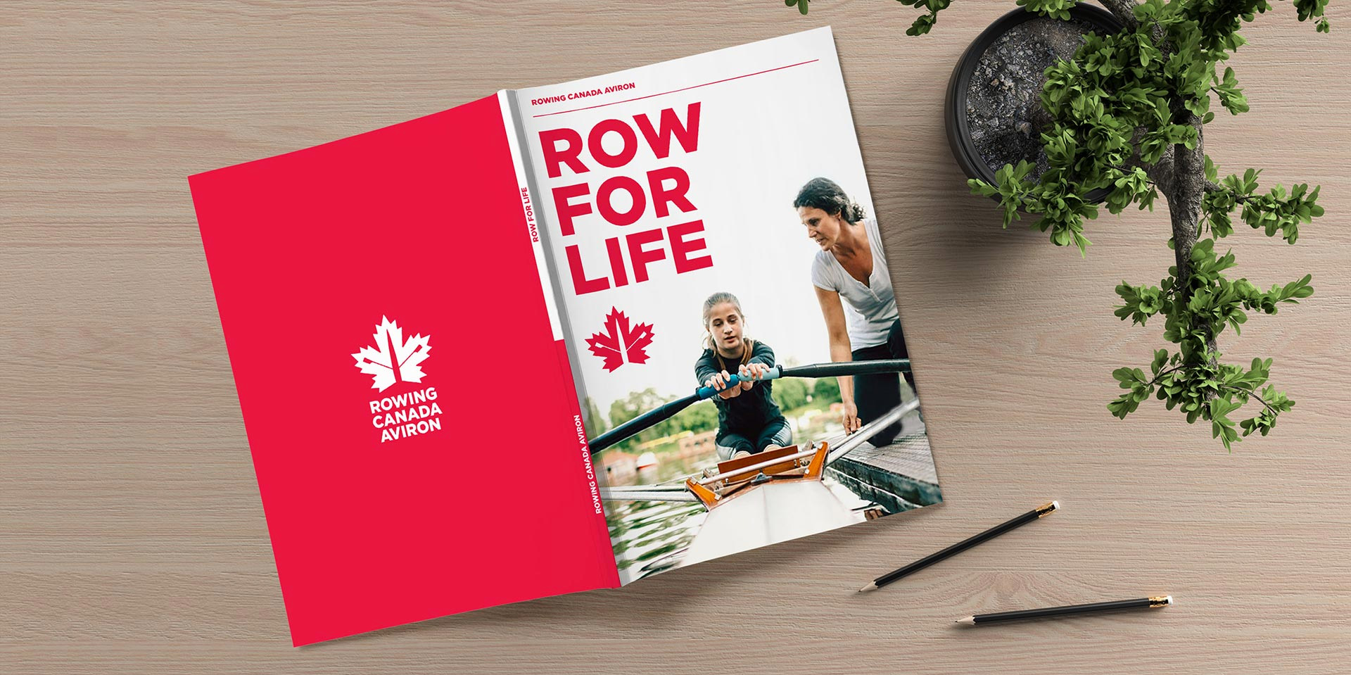 New Logo for Rowing Canada Aviron by They