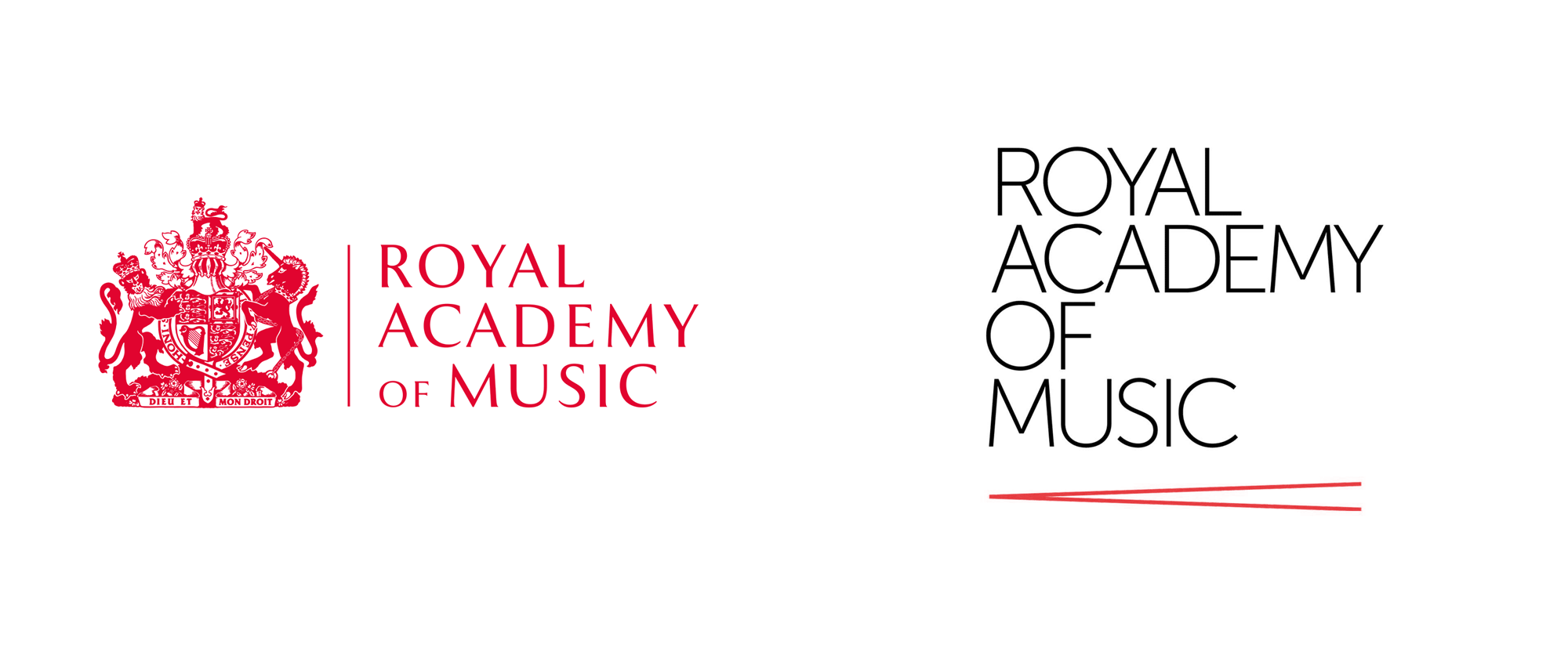 New Logo and Identity for Royal Academy of Music by Johnson Banks