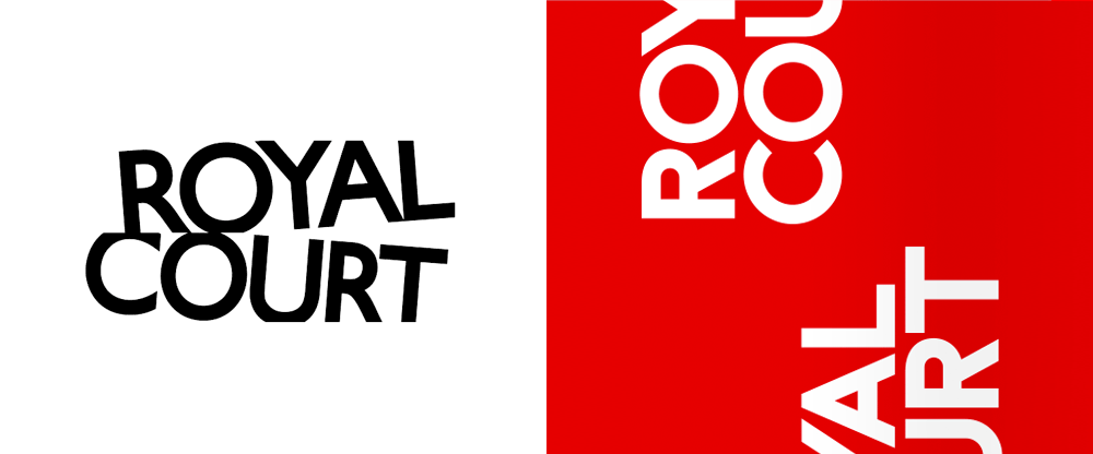 New Logo and Identity for Royal Court by Lovers