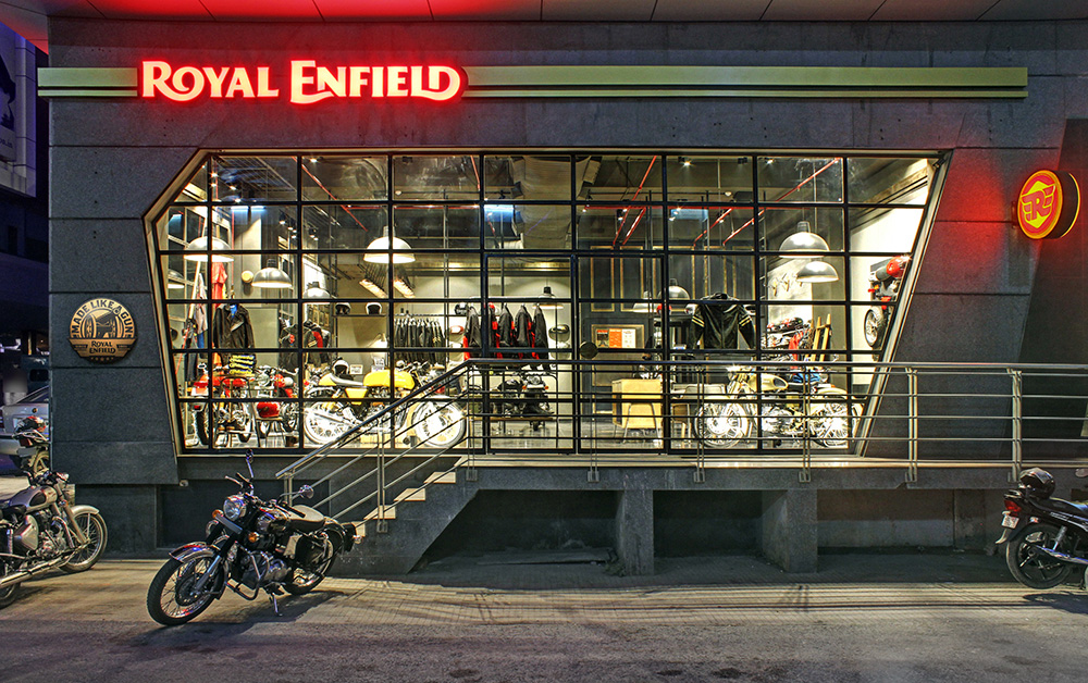 Brand New New Logo And Identity For Royal Enfield By Codesign