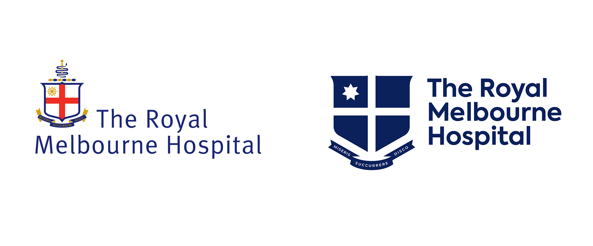New Logo and Identity for The Royal Melbourne Hospital by Principals