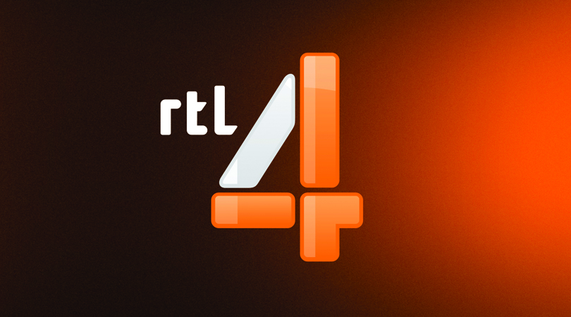 Brand new new logo and on air look for rtl 4 by fin design for Rtl4 programma