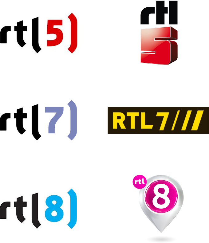 New Logo and On-air Look for RTL 4 by Fin Design