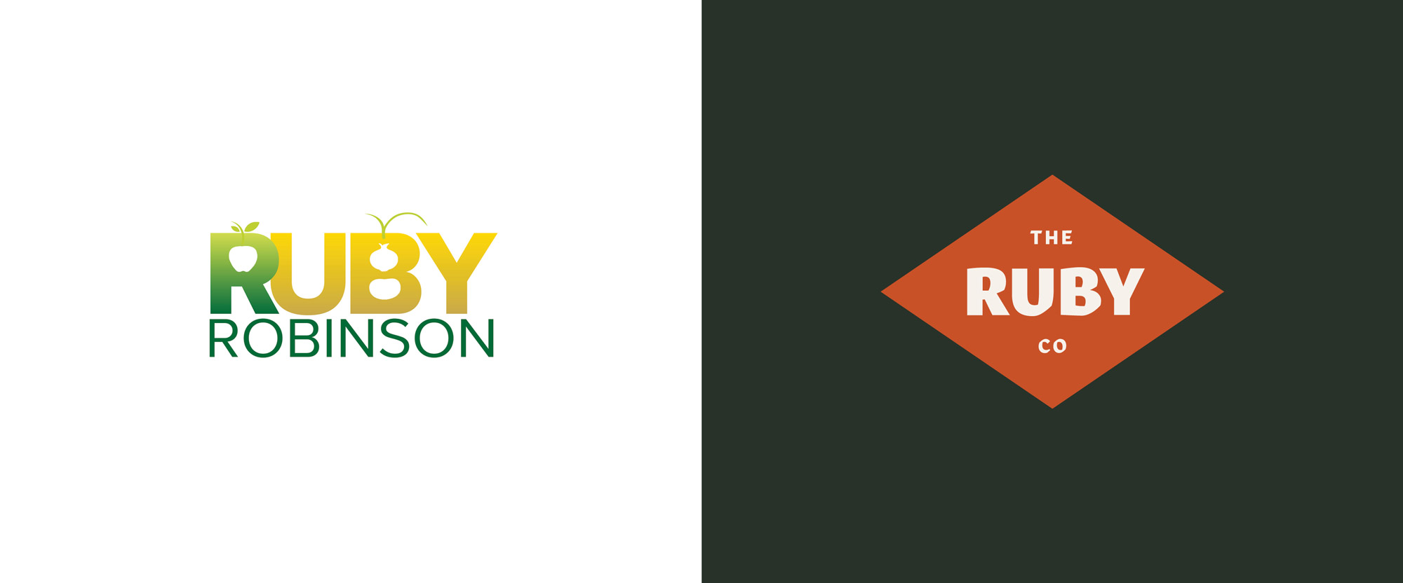 New Name, Logo, and Identity for The Ruby Company by One Design Company