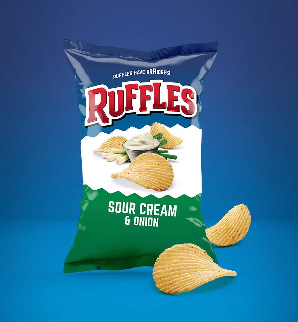 New Logo and Packaging for Ruffles by DuPuis Group