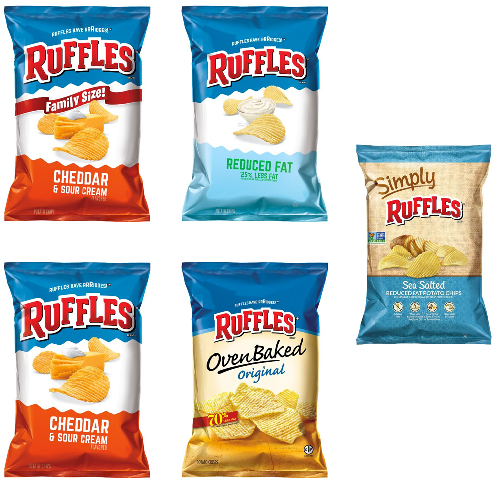 Brand New New Logo And Packaging For Ruffles By Dupuis Group