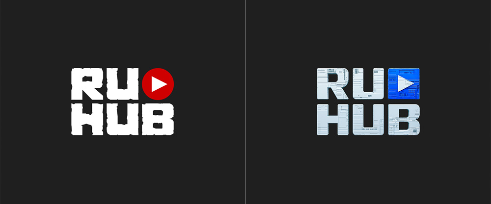 New Logo and Identity for RuHub done In-house