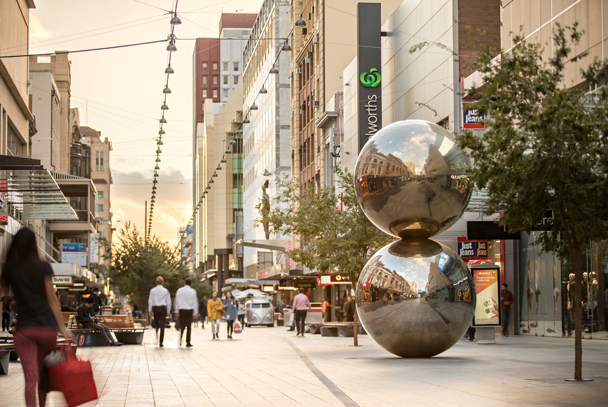 New Logo and Identity for Rundle Mall by Simple