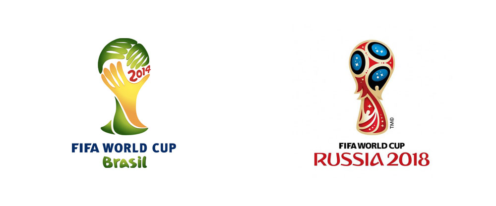 New Logo For  Fifa World Cup Russia By Brandia Central
