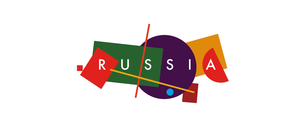 brand new new logo and identity for russia tourism