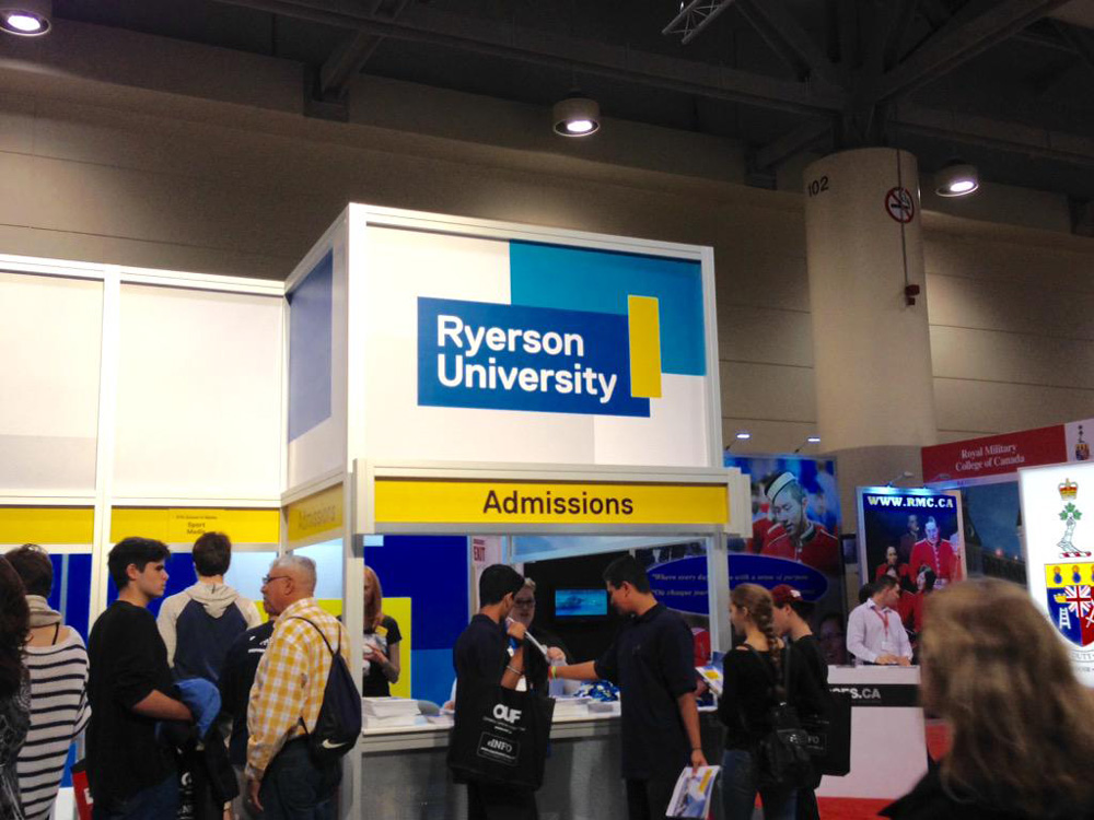Ads New Logo And Identity For Ryerson University By Bruce Mau Design