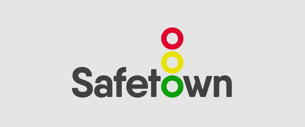 New Logo and Identity for Safetown by Startling Brands