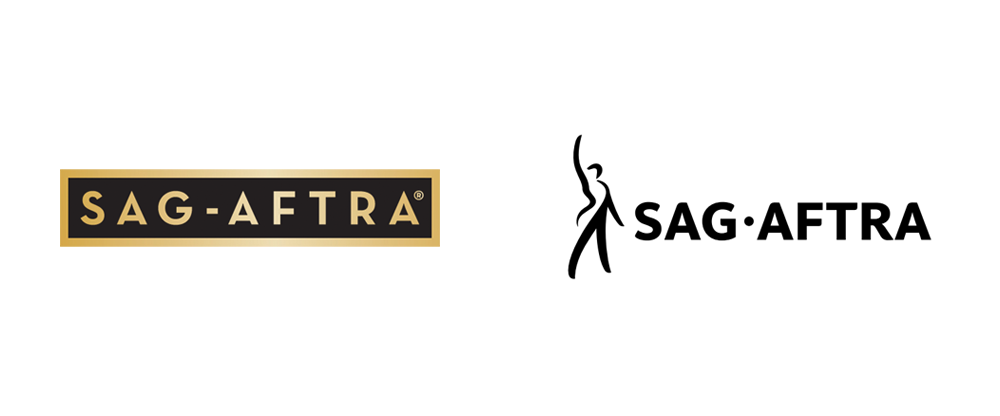 New Logo and Identity for SAG-AFTRA by Siegel+Gale
