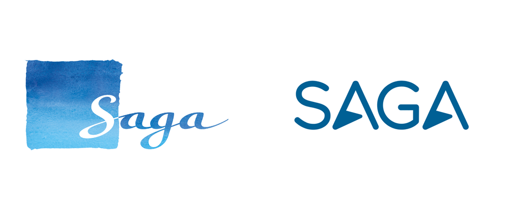 New Logo for Saga Holidays